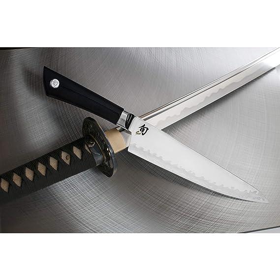 Amazon.com: Shun VB0706 Cuchillo de cocina Sora, 8 pulgadas ...