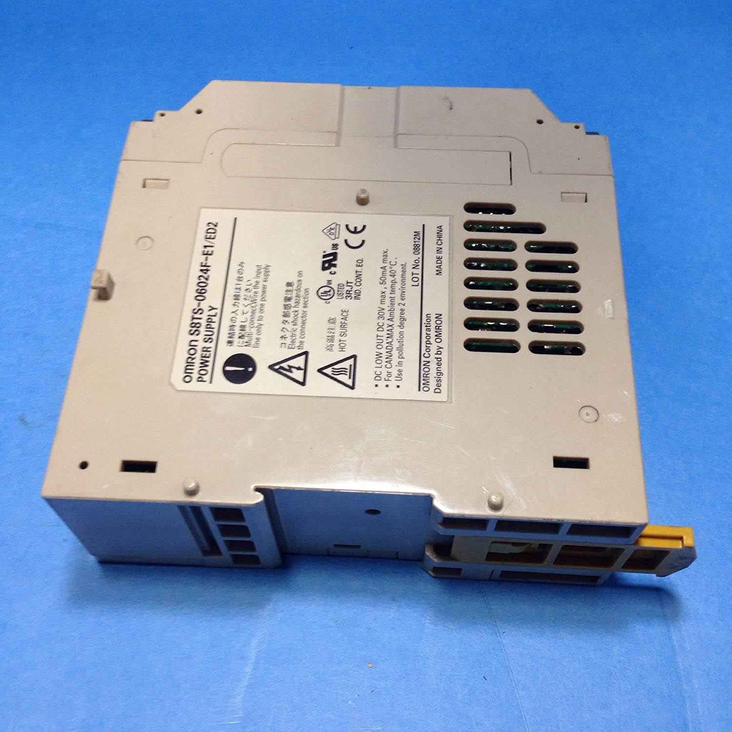 Omron S8TS06024FE1 Switch Mode Power Supply, Enclosed