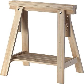 Ikea Treteau De Bureau En Bois De Hetre Avec Etagere Hauteur Et Angle Reglables Egalement Ideal Pour Dessiner Des Dessus De Table Amazon Ca Maison Et Cuisine