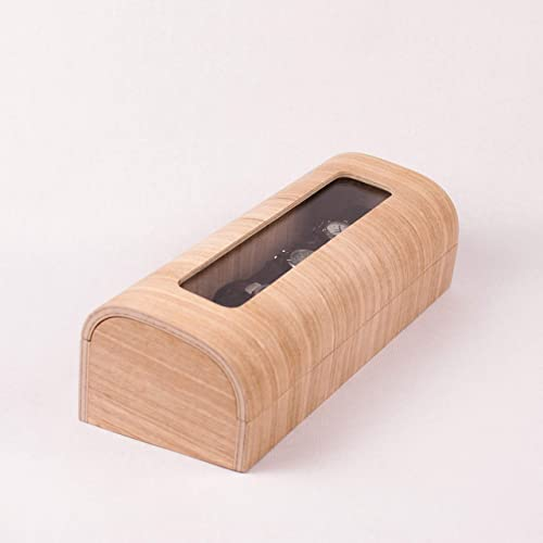 Estuche relojero y joyero moderno de madera elaborado de ...