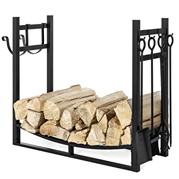 Best Choice Products 43.5 Inches Firewood Rack
