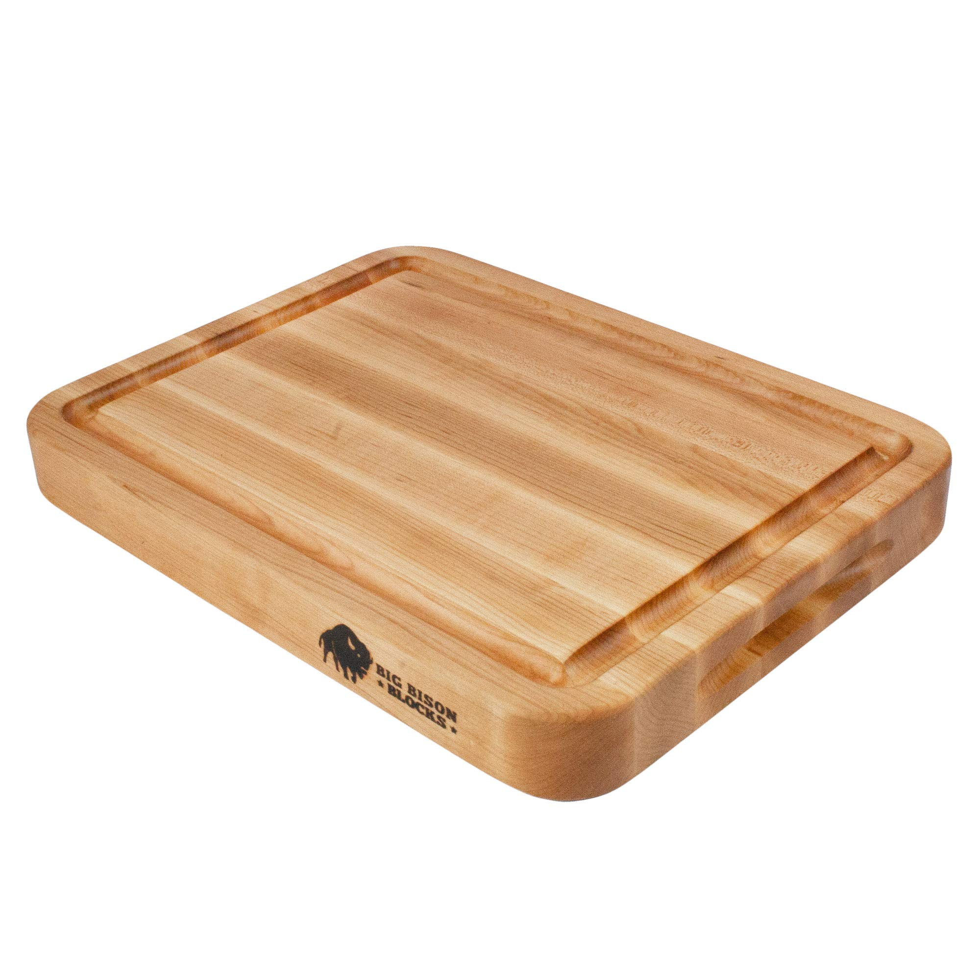 Big Bison Maple Carving Board, 16 x 12 x 1.75 Inch