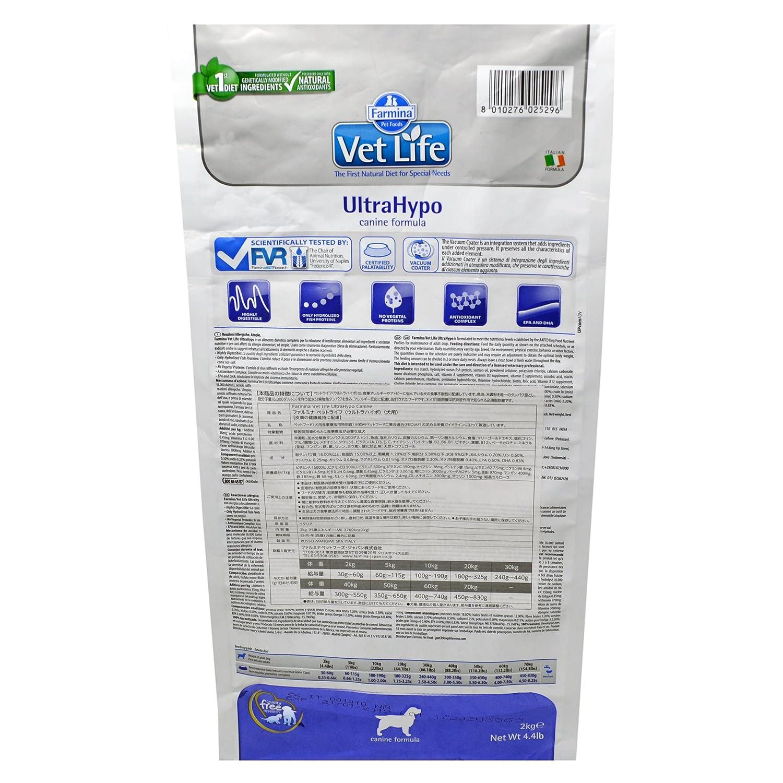 Vet Life ultrahypo Dog, 1er Pack (1 x 2 kg): Amazon.es: Productos para mascotas