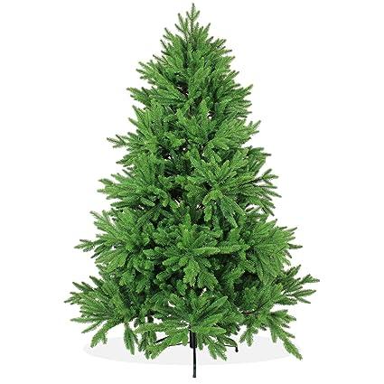 Árbol de Navidad artificial DeLuxe de 180 cm, 1,8 m de alta calidad ...