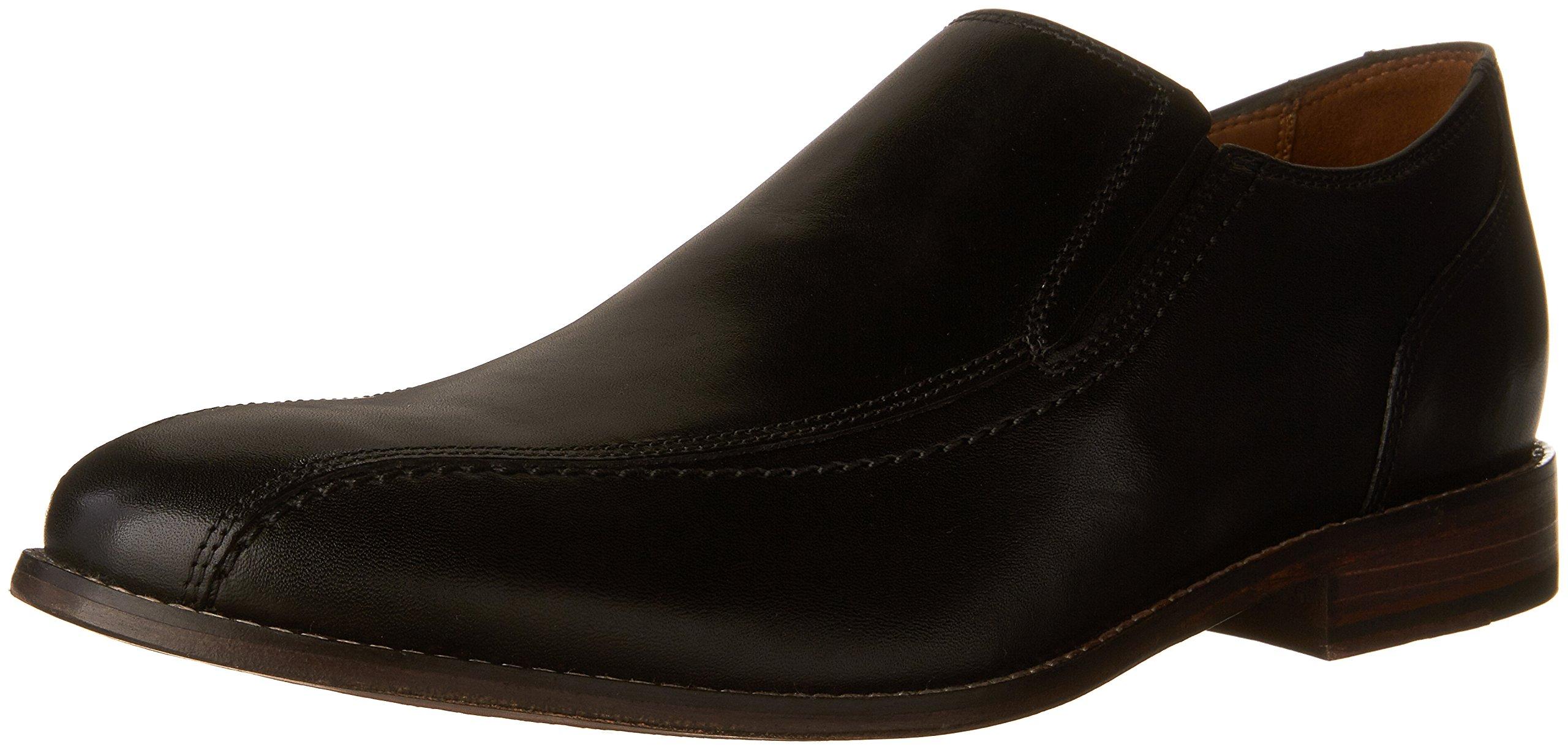 Bostonian Men's Ensboro Step Slip-on Loafer, Black, 9 SS US