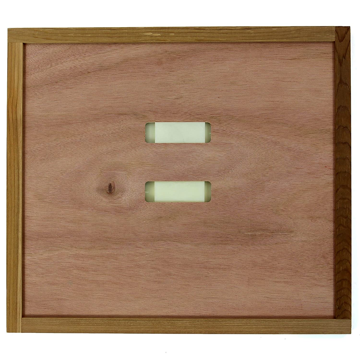 WBC Hive Crown Board 2pc Porter Bee Escapes included Beehive Beekeeping Easibee easipet