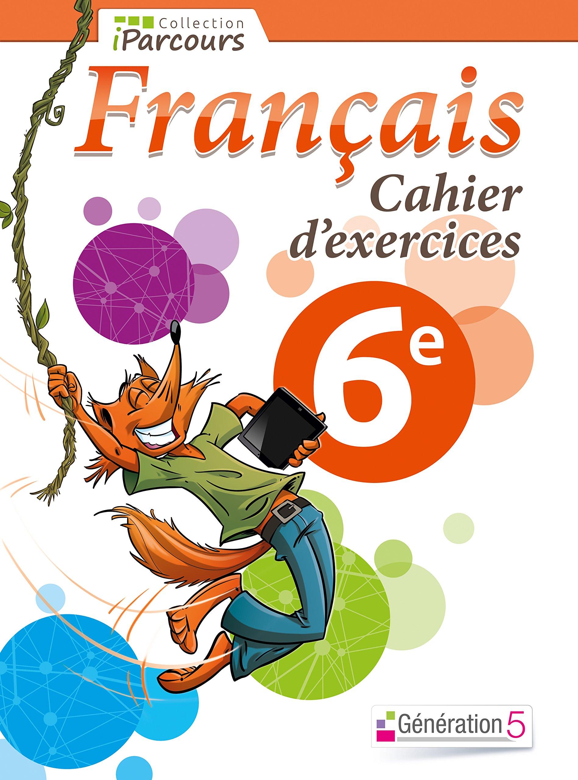 Amazon Fr Cahier D Exercices Iparcours Francais 6e