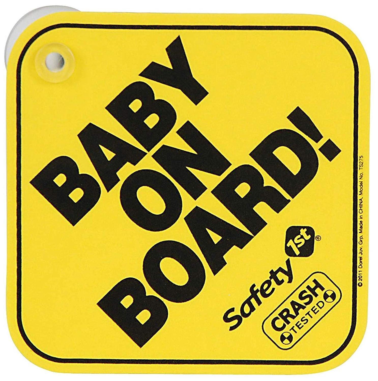 Safety 1st 38000720 Baby On Board Schild Baby
