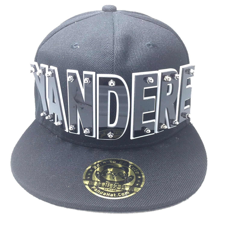 81a6bab30cb Amazon.com  YANDERE HAT IN BLACK  Clothing