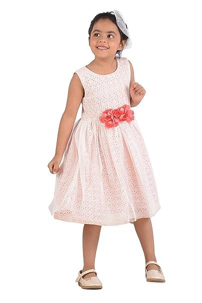 6575f21d0 KidsDew Fancy Baby Dress for Girl Party Wear Frock Dresses  Amazon ...