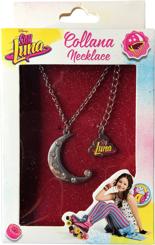 Collar de Soy Luna con Colgante en Forma de Luna con Brillantes Memory Technology ED80151