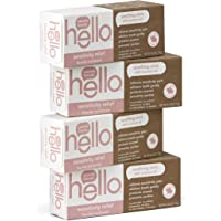 4-Pack Hello Oral Care Sensitivity Relief Fluoride Toothpaste