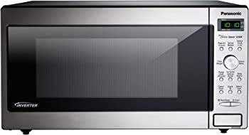 Panasonic 1.6 Cu. Ft. 1250W Genius Sensor Countertop-Built-In Microwave