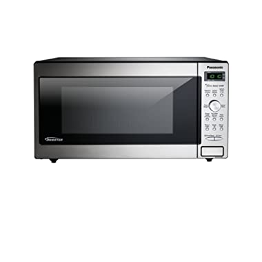 Panasonic NN-SD745S Countertop/Built-In Microwave with Inverter Technology, 1.6 cu. ft, Stainless