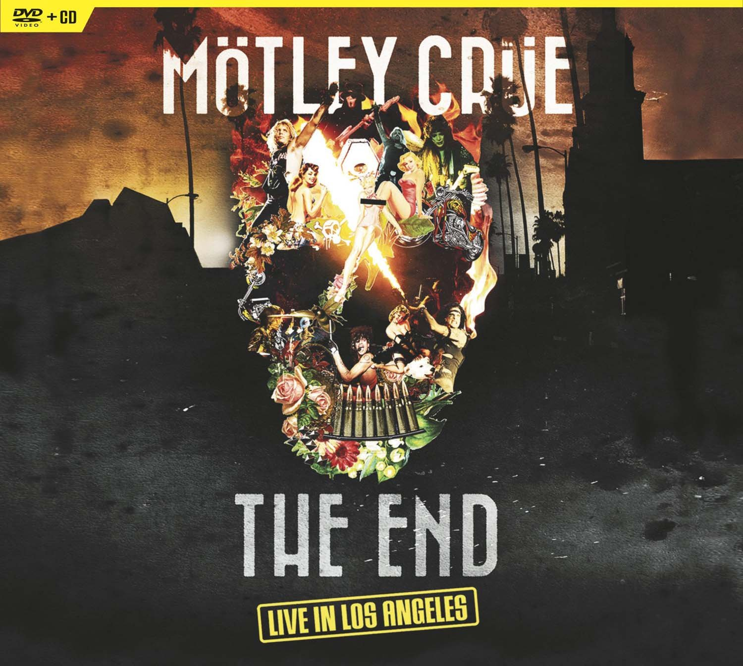 DVD : Motley Crue - The End: Live In Los Angeles (With CD, 2 Disc)