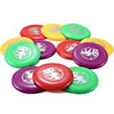 "9"" Plastic Flying Sports Discs (Set of 12)"