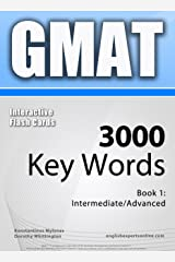 GMAT Interactive Flash Cards - 3000 Key Words. A powerful method to learn the vocabulary you need. Kindle Edition