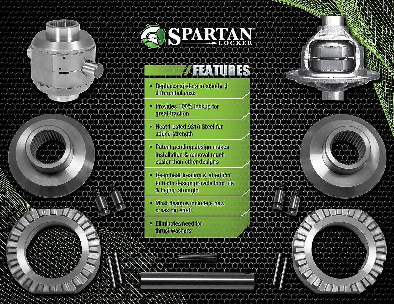 USA Standard Gear Spartan Locker for Model 35 Differential with 27 Spline Axles /& 1.560 carrier SL M35-1.5-27