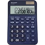 Sharp EL-M335 10-Digit Extra Large Desktop Calculator with Currency Conversion Functions, Tax, Percent and Backspace Keys, an