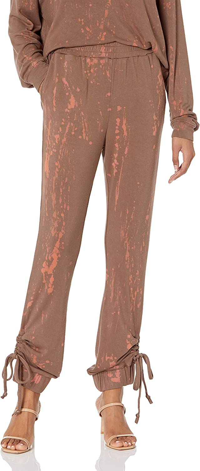 KENDALL + KYLIE Women's Mineral Luxury goods Ruched Kansas City Mall Side Wash Sweatpant