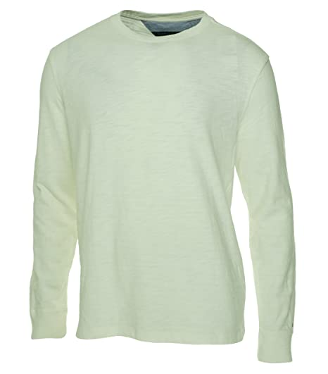 f0be0f2715d8dc Tommy Hilfiger Off Mens Crewneck Long Sleeve T-Shirt White 2XL ...