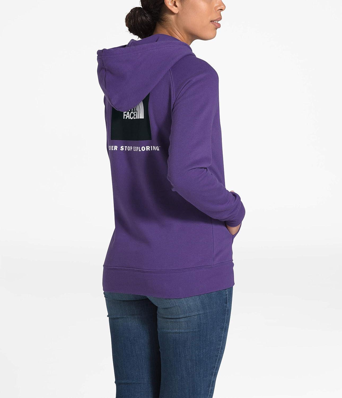 The North Face Damen Red Box Hoodie Hero Purple/Tnf Schwarz