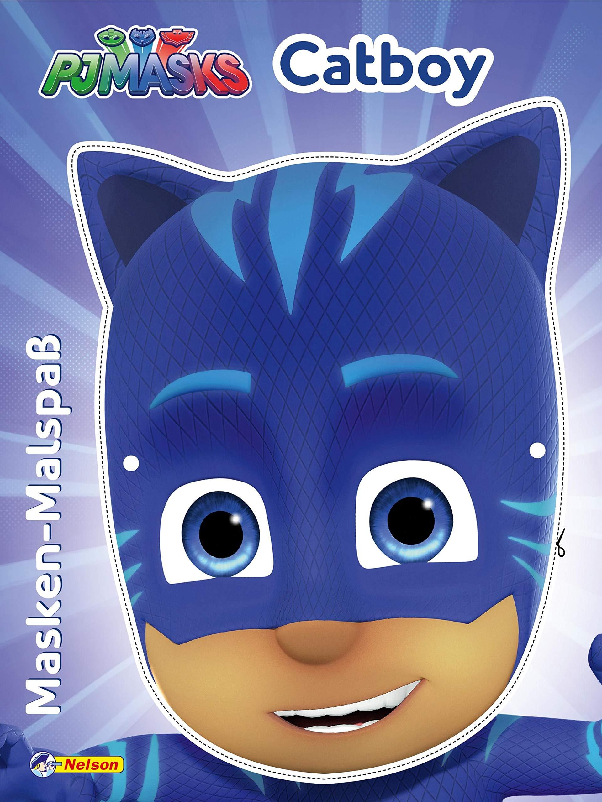 PJ Masks: Masken-Malspaß Catboy: Mit toller Maske zum Basteln ...