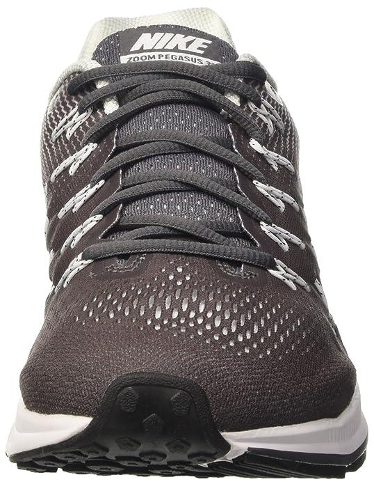 Nike Air Zoom Pegasus 33, Chaussures de Running Homme, Black (Nero/Nero-Antracite-Grigio Scuro), 42.5 EU