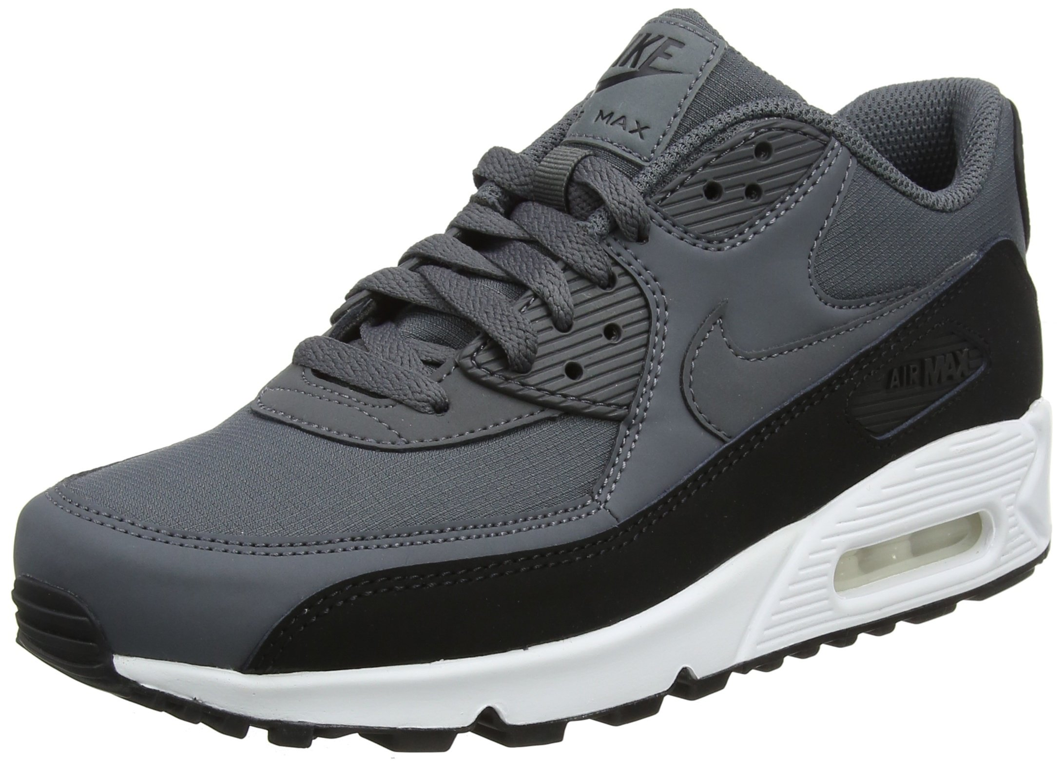 buy online 84641 2cfda Nike Men's Air Max 90 Essential Trainers Multicolour (Black/Dark Grey White  085) 10.5 UK 45.5 EU