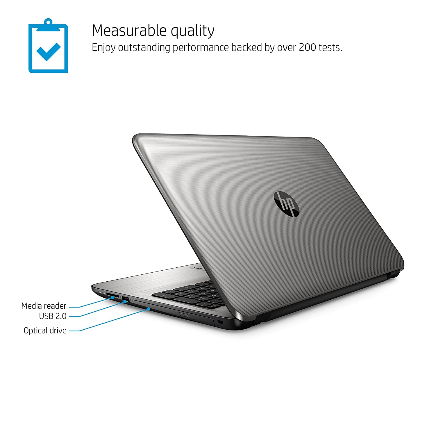 Amazon HP 15 ba040nr 15 6 inch Notebook AMD A10 8 GB RAM 1 TB HDD puters & Accessories