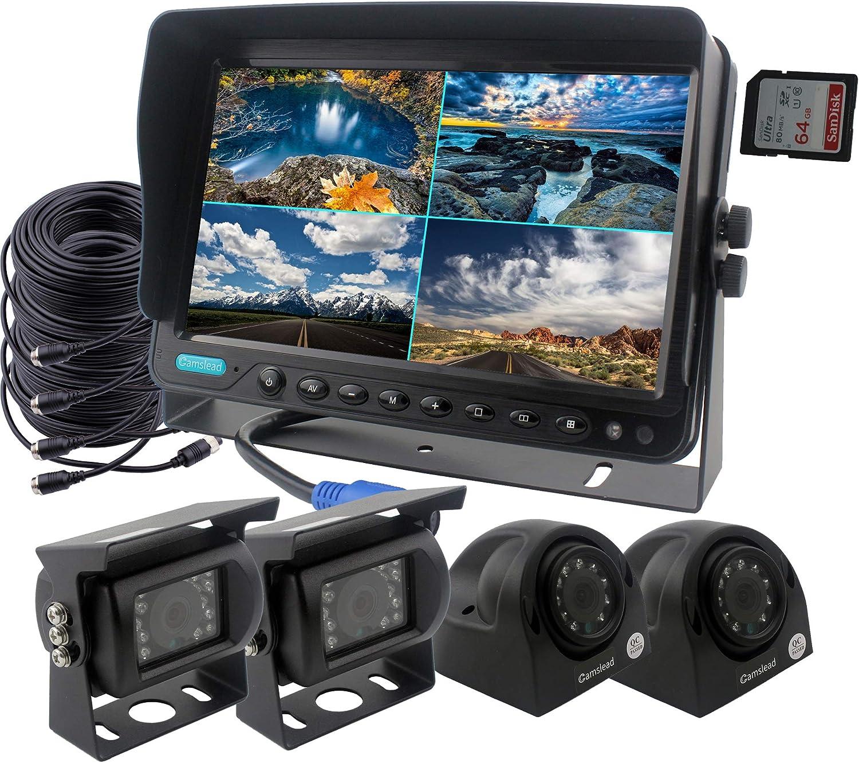 Camslead Auto Rückfahrkamerasystem 9 Zoll Monitor Elektronik