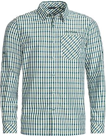 VAUDE Albsteig Camisa, Hombre, Petroleum, 50: Amazon.es: Ropa y accesorios