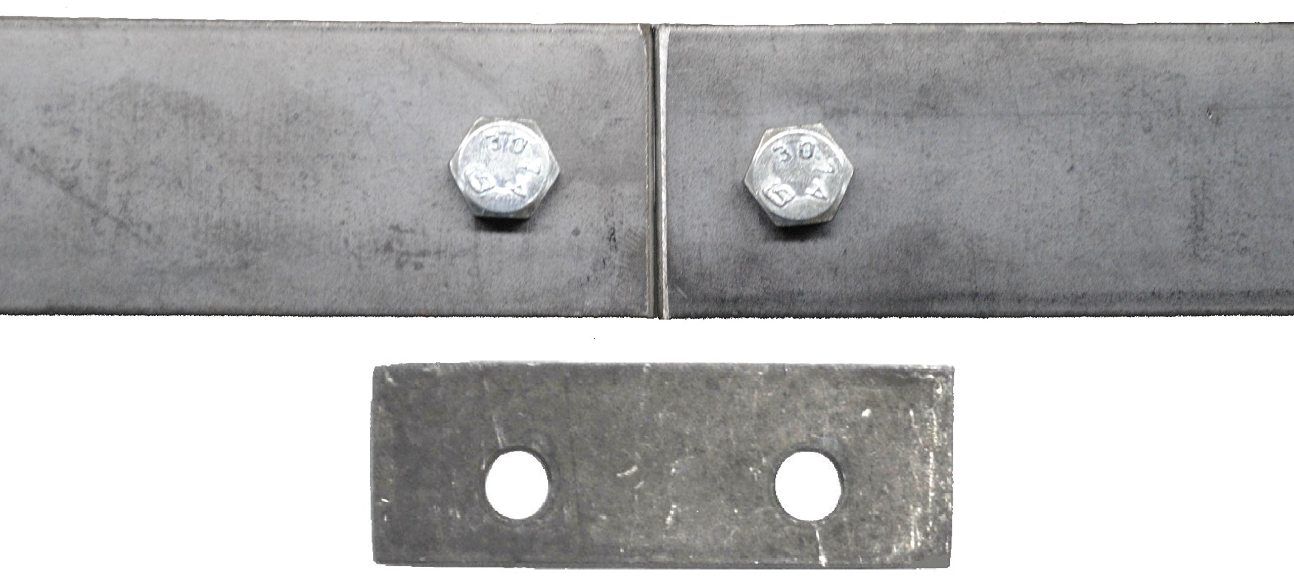 Double Sliding Barn Door Hardware Kit Top Mount Design with 8 Ft. Track Included - Made in USA by Mapp Caster (Image #6)