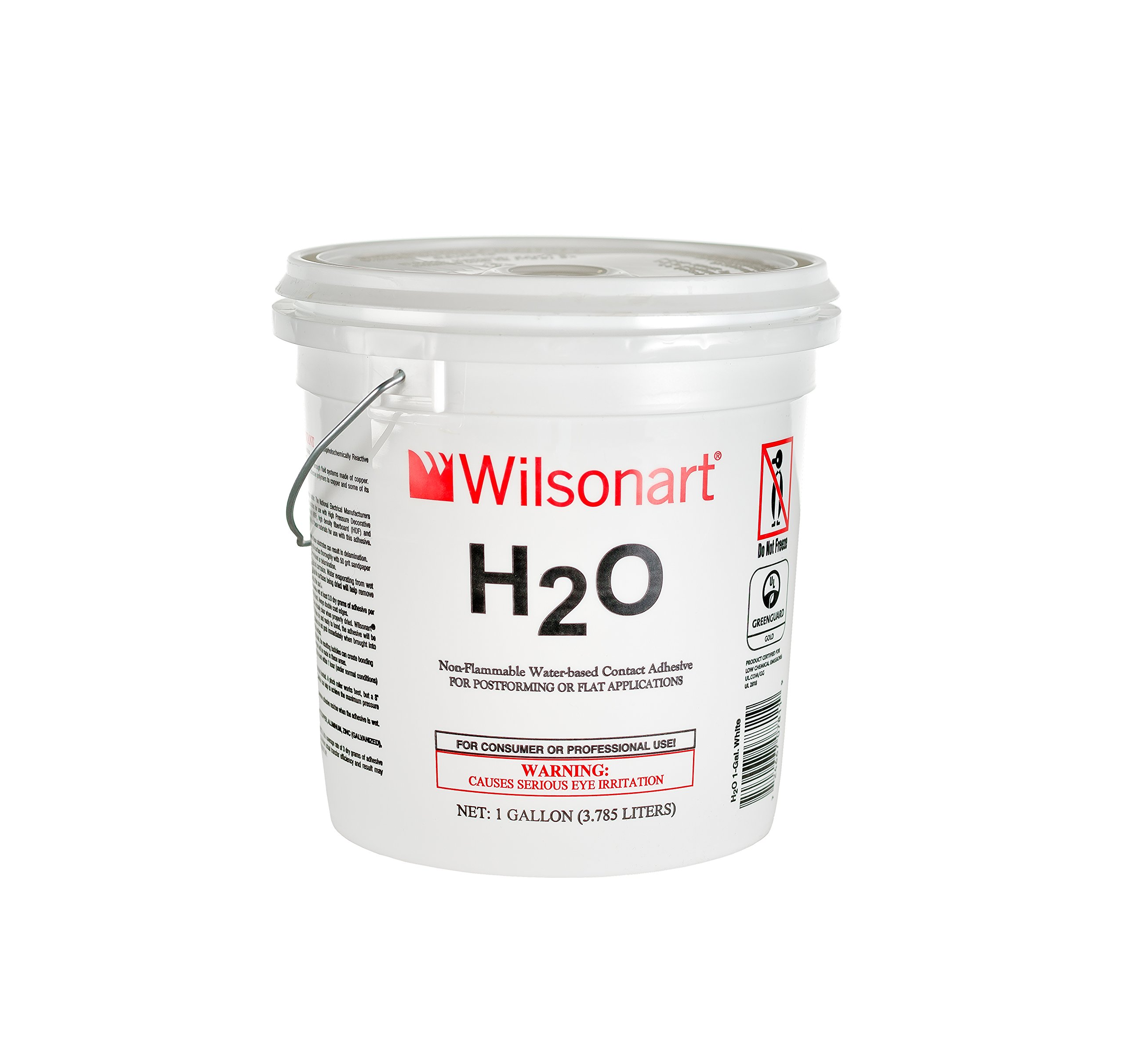 Wilsonart H2O Water-Based Low VOC Nonflammable Contact Adhesive - 1 Gallon