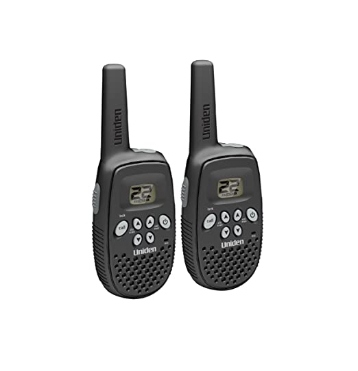 amazon com uniden 16 mile 22 channel rechargable frs gmrs two way rh amazon com Uniden Walkie Talkie Batteries Antenna for Uniden Walkie Talkie