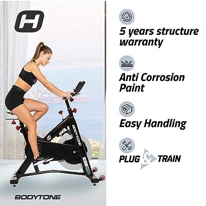 BT BODYTONE - DS-55 - Bicicleta Estática Profesional de Ciclo Indoor ...