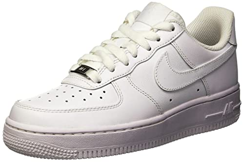 hot sale online d0df4 5c1bb NikeWMNS AIR FORCE 1 07 - Calzado de deporte Mujer, Blanco (White   White