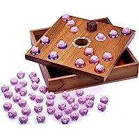Logoplay houten spel Pig Big Varkentjesspel - blokjesspel - gezelschapsspel - plankspel van hout