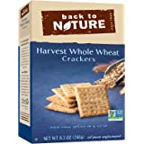 Back To Nature Non GMO, Harvest Whole Wheat Crackers, 8.5 ounce