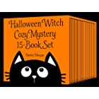 Halloween Witch Cozy Mystery 15-Book Set