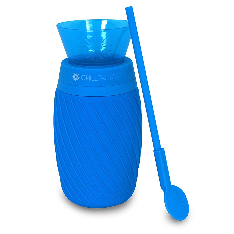 Chill Factor Ice Twist color Blast Slushy Maker, Blue