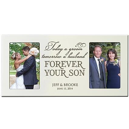 Amazon.com - Personalized Wedding Gift for Parents, wedding Photo ...