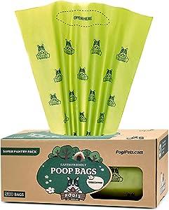 Pogi's Poop Bags - 500 Grab & Go Dog Poop Bags - Leak-Proof, Earth-Friendly Poop Bags for Dogs