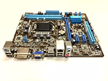 Asus P8H61-M LX2 v3 0 Intel Motherboard LGA 1155/Socket H2 with I/O plate