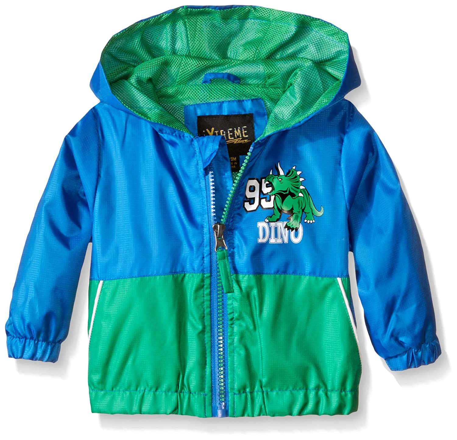 iXTREME Boys' Colorblock Jacket with Dino IX62121