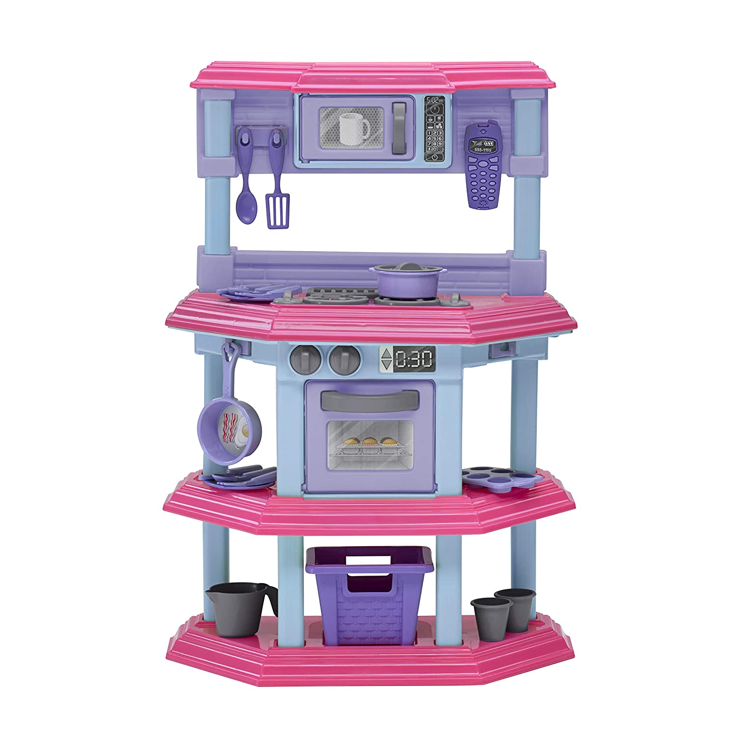 American Plastic Toys My Very Own Sweet Treat Kitchen Set by American Plastic Toys