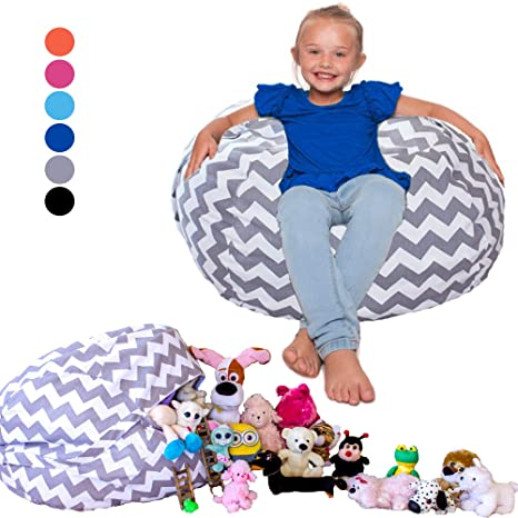 Super Amazon Com Lillys Love Stuffed Animal Bean Bag Chair Inzonedesignstudio Interior Chair Design Inzonedesignstudiocom