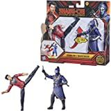 Marvel Hasbro Shang-Chi and The Legend of The Ten Rings Action Figure Toys, Shang-Chi vs. Death Dealer 6-inch Battle Pack, Ki