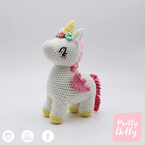 Pistachio the Unicorn pattern by CeCe Brodie | lanas | Amigurumi ... | 500x500