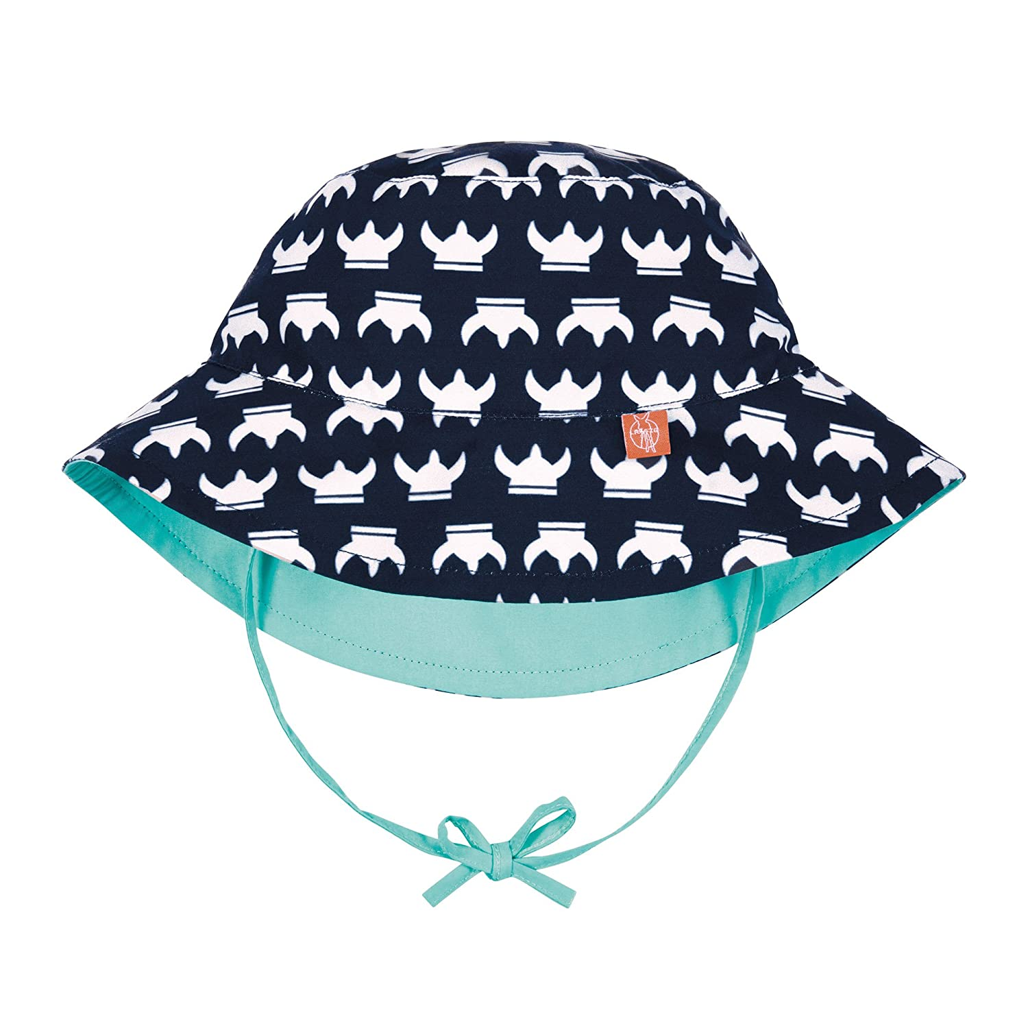Lässig 1433005411 Baby Sun Protection Bucket Hat Sonnenhut, Viking, Size: New Born 0-6 Monate, mehrfarbig Laessig GmbH 1433005411-06